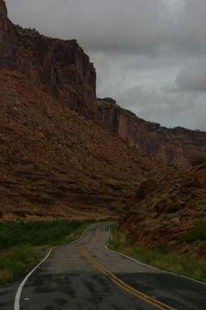 Road, Upper Colorado River Scenic Byway, Utah