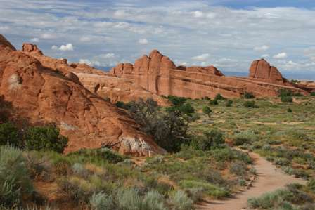 Landscape Arch Trail, Arches National Park