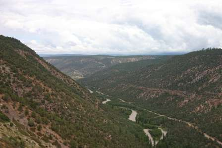 San Miguel River Canyon Unaweep / Tabeguache Scenic Byway