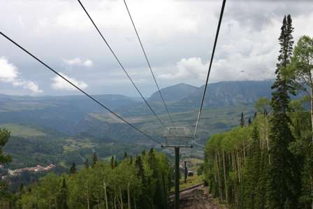 Telluride Gondola Chair Lift Ski