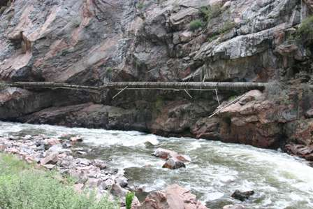 redwood water pipeline canon city royal gorge arkansas river