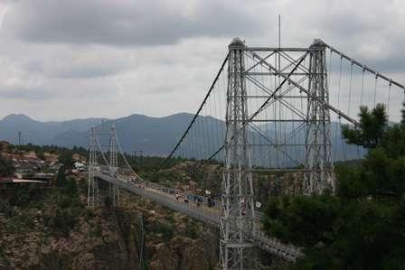Royal Gorge Park, Suspension Bridge, near Canon Cañon City, Colorado