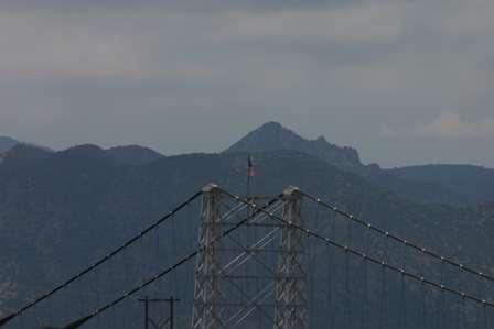 jfk john kennedy mountain royal gorge bridge