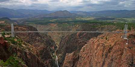 world's highest suspension bridge canon city royal gorge