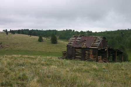 ghost shack, phantom canyon road