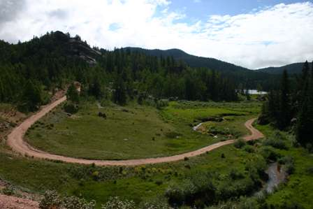 Gold Camp Road, to Victor & Cripple Creek, Colo.