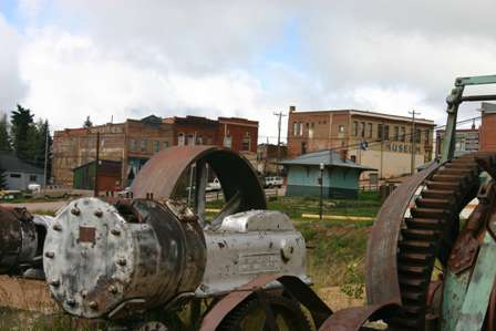 mine equipment victor colorado