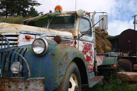 old tow truck victor colorado