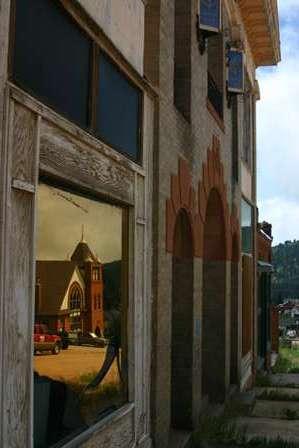 Masonic Temple & Baptist Church, Victor, Colorado streets