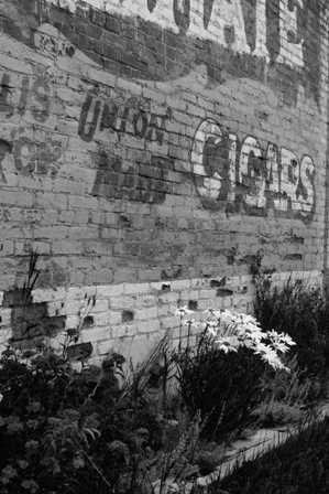 painted advertisements victor colorado brick wall