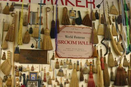 broom wall, victor trading company