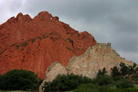 rocks at Garden of the Gods, Colorado Springs
