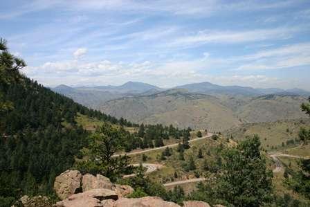 Lookout Mountain, above Golden Colorado