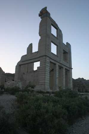 Old Cook Bank Building Rhyolite Ghost Town