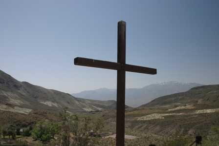 Death Valley Scotty's Grave