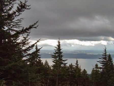 Mount Walker Viewpoint, Puget Sound, Washington