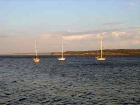 Boats at Port Townsend, Washington