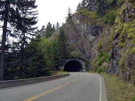 Hurricane Ridge Road, Tunnel, Olympic National Park