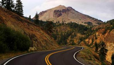July road trip through Lassen Volcanic National Park