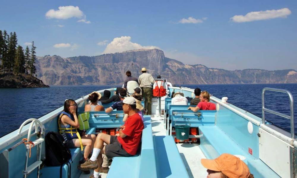 Wizard Island Boat Tour