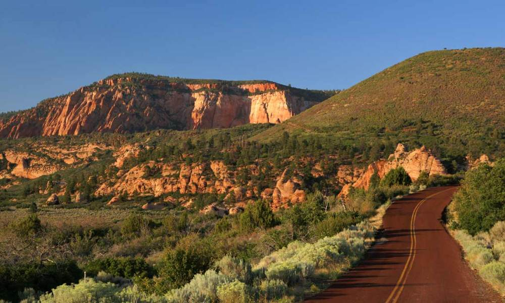 Kolob Terrace Road Utah Map on emerald pools utah, red canyon road utah, kolob canyons utah, snow canyon state park utah, angels landing utah,