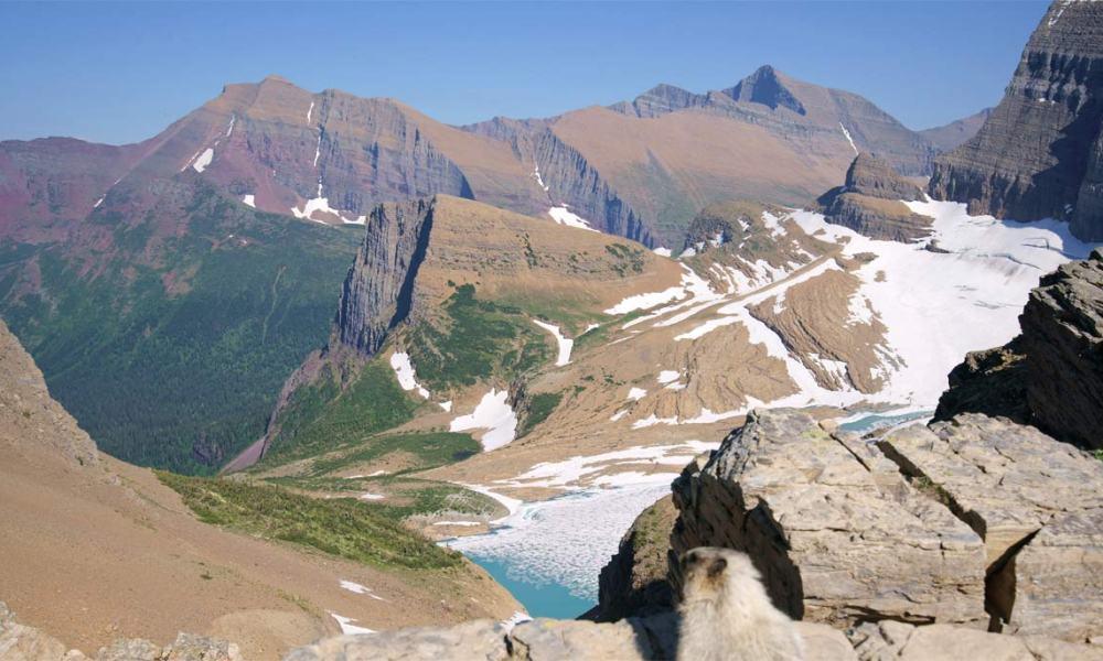 Garden Wall Trail To Glacier Overlook In Glacier Np Takemytrip Com