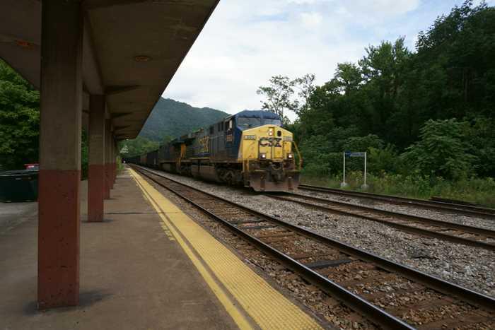 Prince, West Virginia Train Station, near Beckley