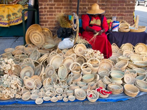 Charleston basket weaver