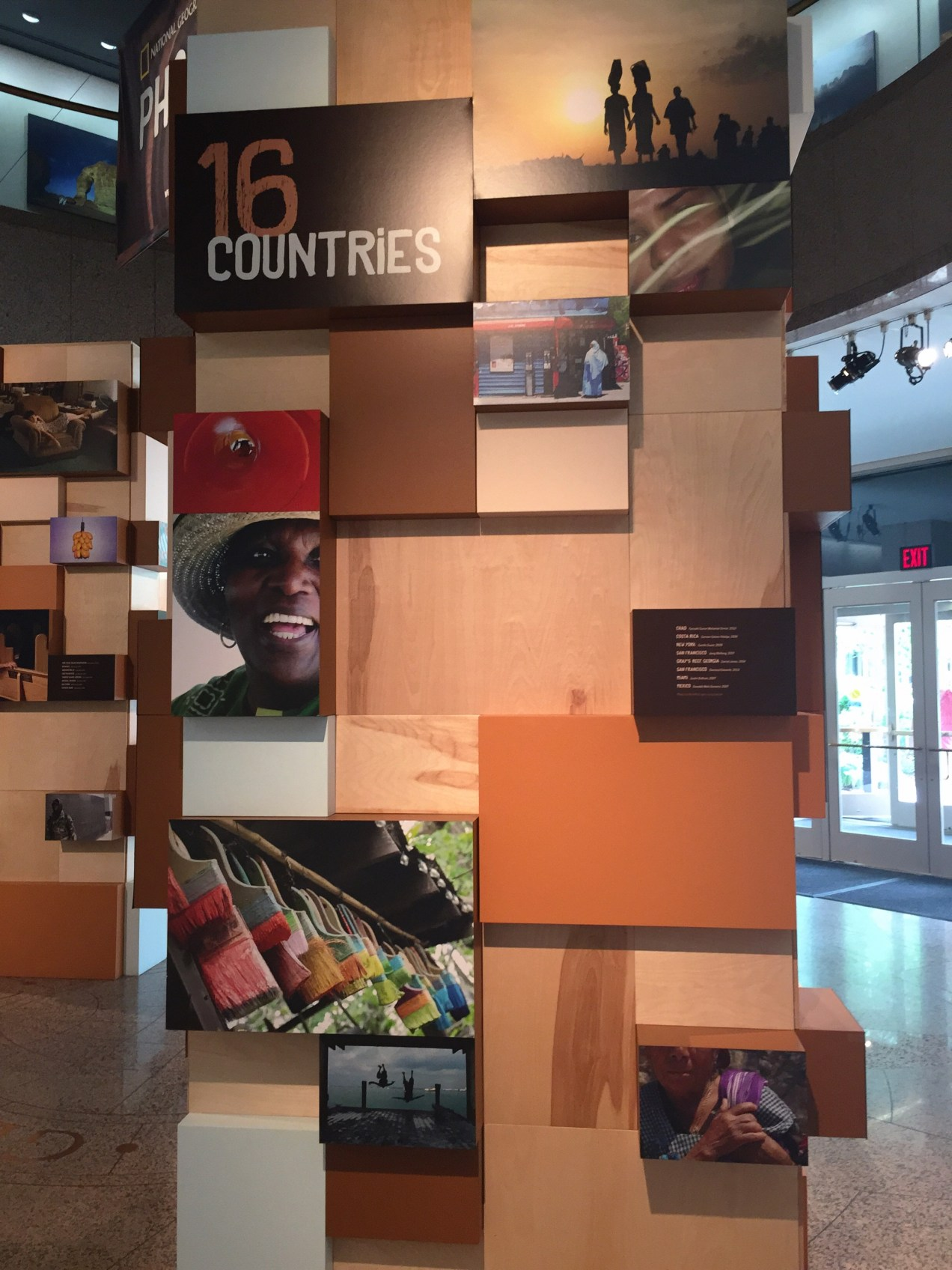 photo camp - a decade of storytelling exhibit at national geographic headquarters