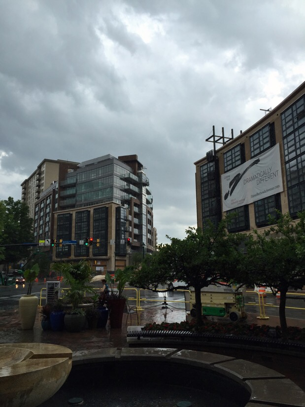 rain in bethesda, maryland
