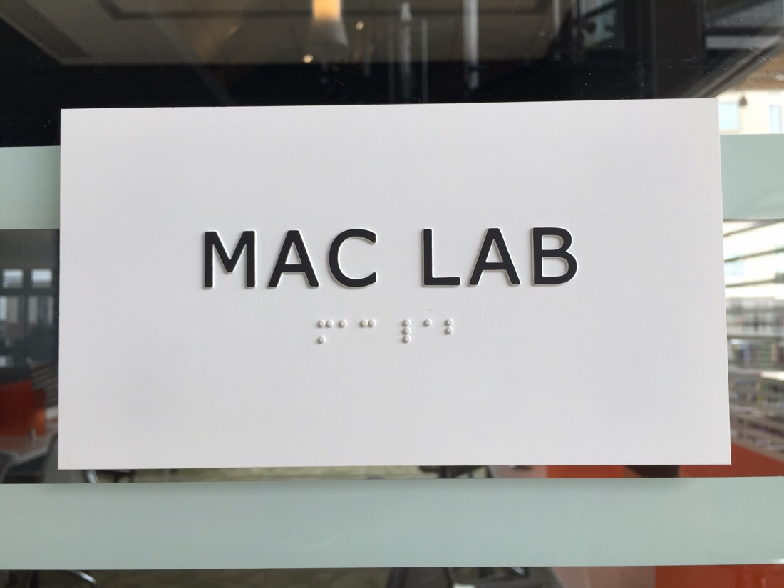 mac lab at the new library in silver spring, maryland