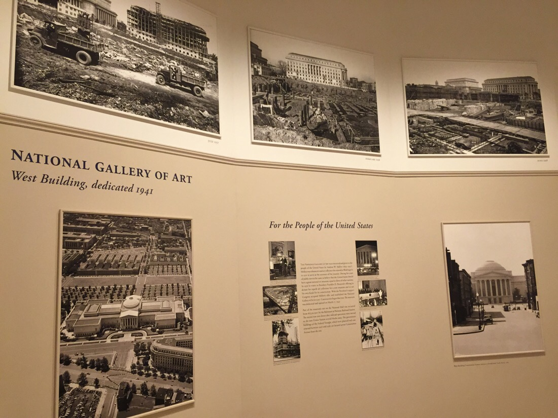 photographic history of the national gallery of art in washington dc