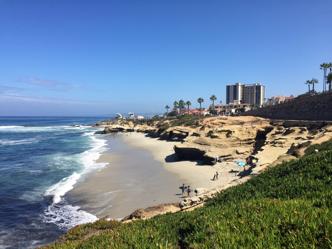 looking towards la jolla, ca