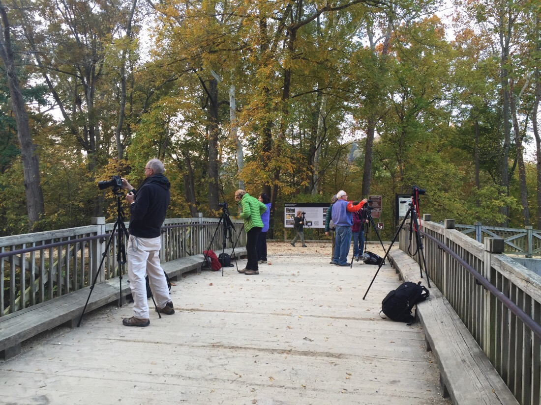 sunrise photography class at the c & o canal and potomac with the my smithsonian associates class