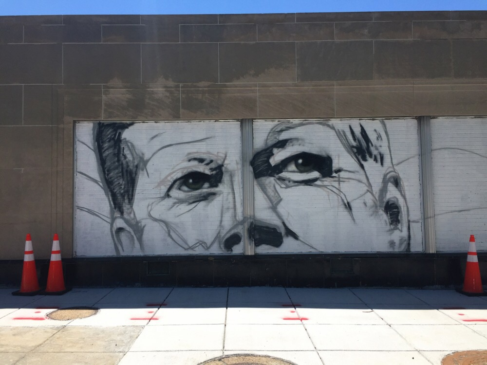 kennedy mural on wisconsin ave in washington dc