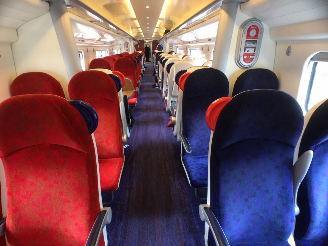 virgin trains pendolino standard class seating