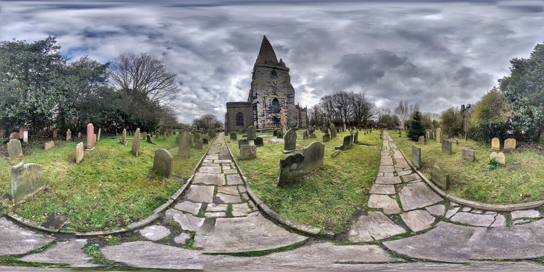 St Helen's church in sefton, merseyside
