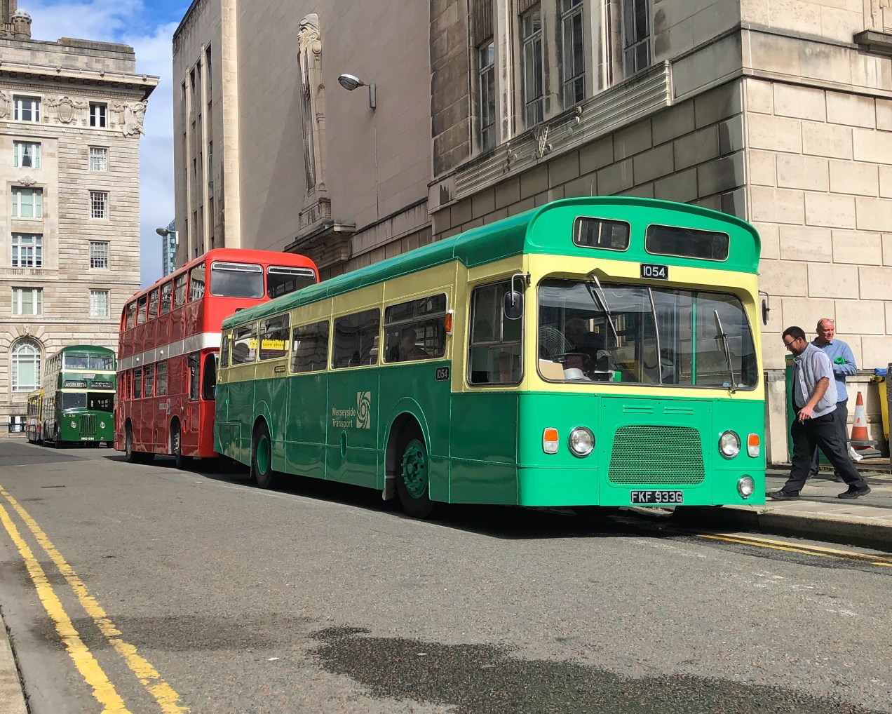 Merseyside Transport Trust Running Day on September 9th, 2018 in Liverpool, U.K.