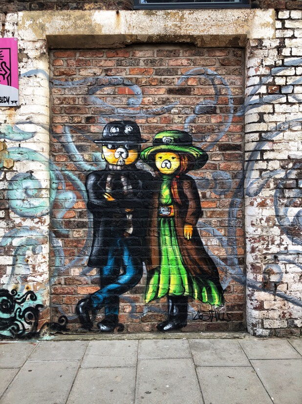 Street Art in the Baltic Triangle area of Liverpool, England