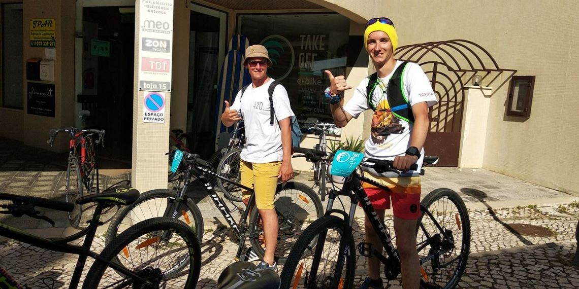 TAKE OFF e-bike HAVING FUN