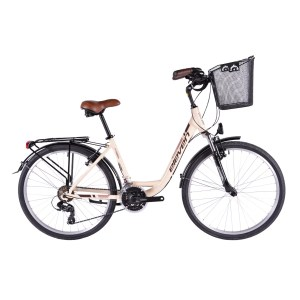 BICICLETA ELEVEN OUTDOOR EXPERIENCE-creme