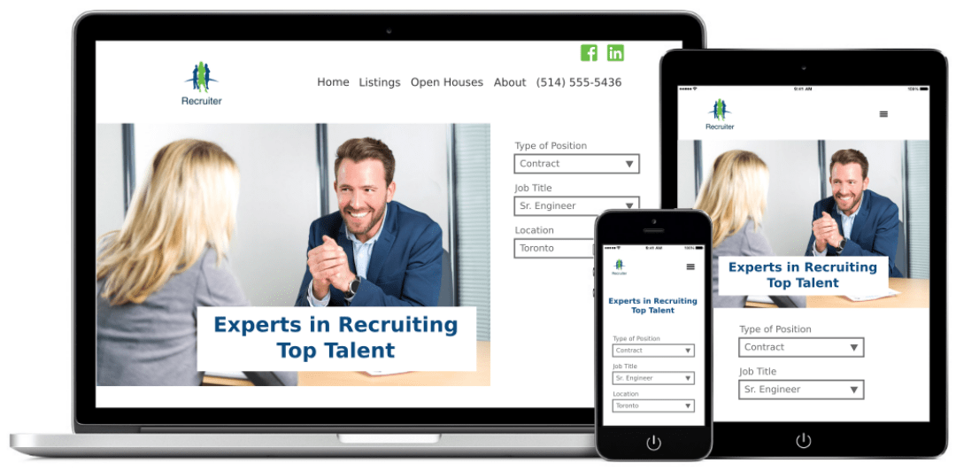 recruiter websites