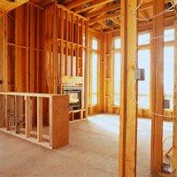 wood framing interior