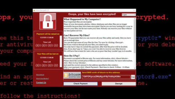ransomwarewannacry