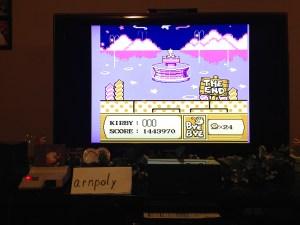 Kirby's Adventure Ending