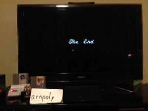 Metroid Ending Screen