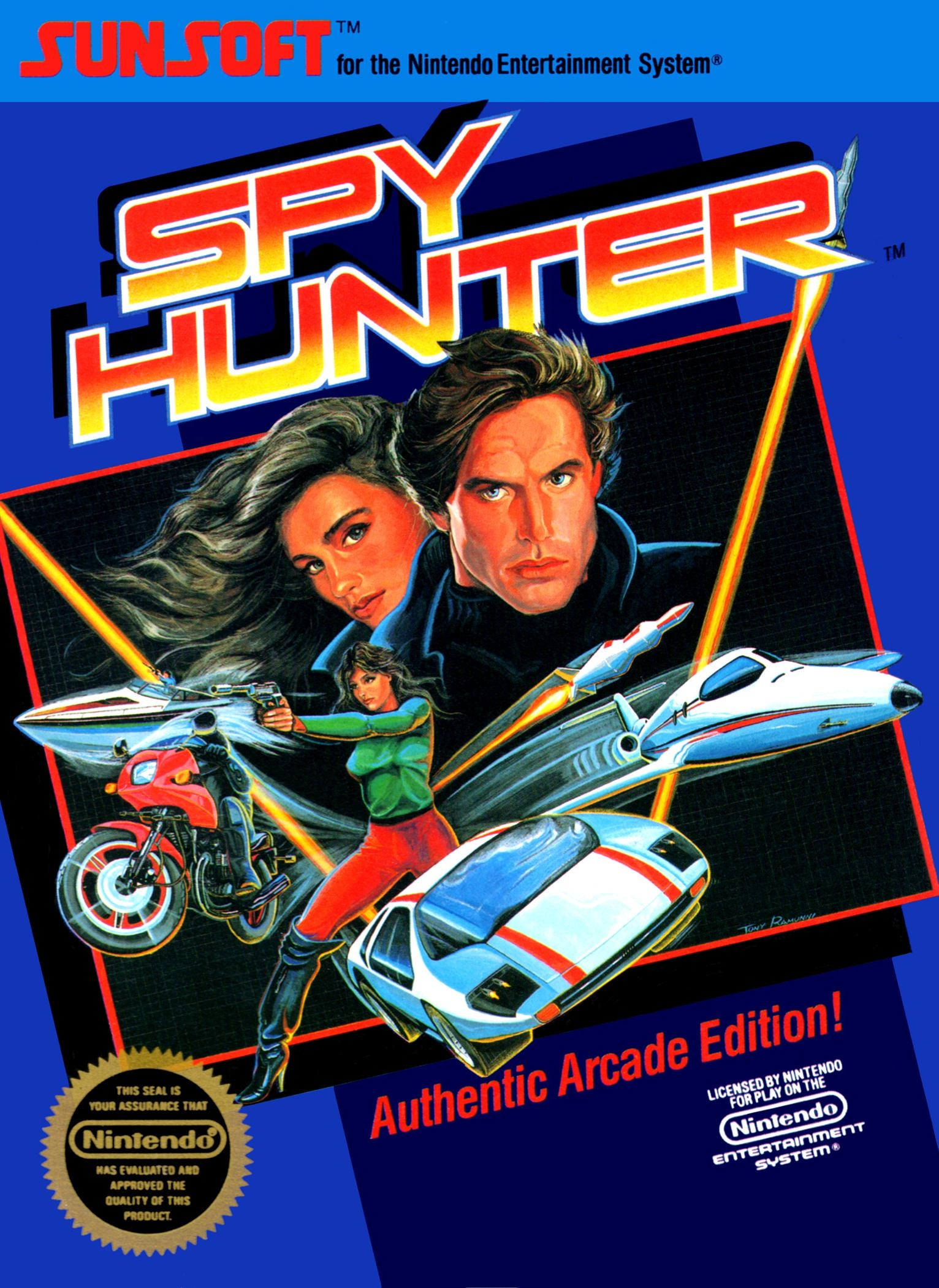 Spy Hunter game cover