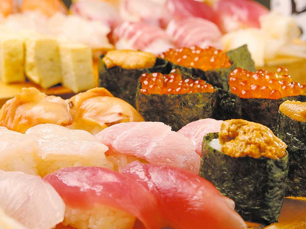握り寿司10貫 1人前 1150円+税