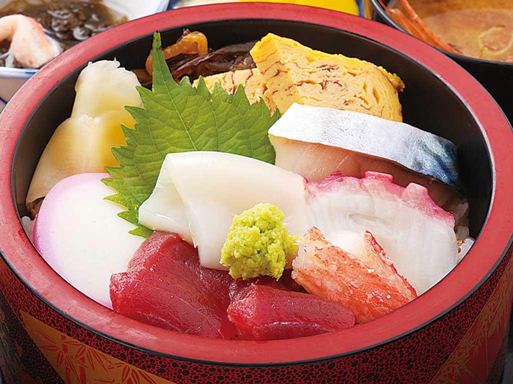 ちらし寿司 1100円〜