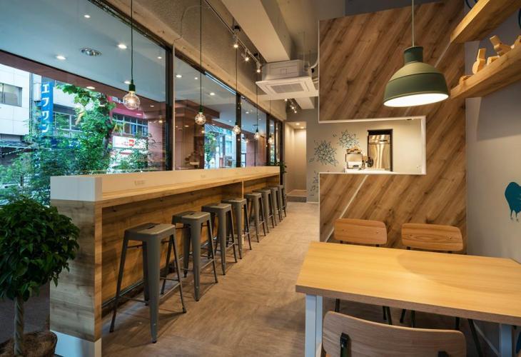NEW ZEALAND CAFE AKASAKAの内観
